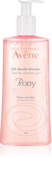 Avène Body gel de duche suave para pele sensível