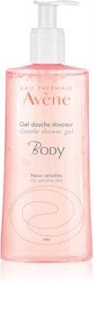 Avène Body нежен душ гел за чувствителна кожа