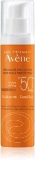 Avène Sun Sensitive fluide protecteur tonifiant pour peaux normales à mixtes SPF 50+