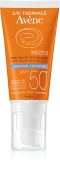 Avène Sun Sensitive emulsão solar sem perfume SPF 50+