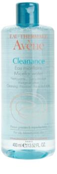 Avène Cleanance água micelar de limpeza para pele problemática, acne