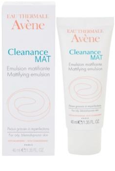 Avène Cleanance Mat mattító emulzió a faggyútermelés szabályozására