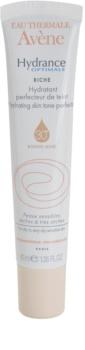Avène Hydrance crema hidratante nutritiva con efecto unificador del tono para pieles secas y muy secas