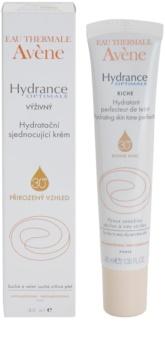 Avène Hydrance crème hydratante nourrissante et unificatrice pour peaux sèches à très sèches et sensibles