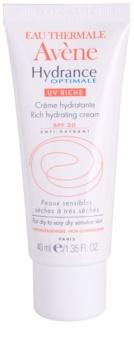 Avène Hydrance feuchtigkeitsspendende Creme für trockene Haut SPF 20
