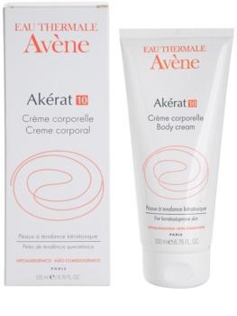 Avène Akérat крем за тяло за лющеща се и загрубяла кожа