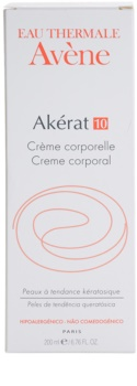 Avène Akérat Crema de corp pentru piele deteriorata si batatorita