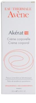 Avène Akérat crème corporelle pour peaux à tendance kératosique et squameuse