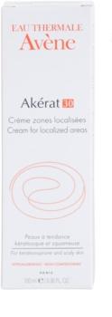 Avène Akérat lokálna starostlivosť pre šupinatú a zrohovatenú pokožku