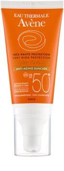 Avène Sun Anti-Age захисний крем для обличчя проти зморшок SPF50+