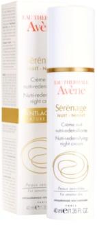 Avène Sérénage Anti-Rimpel Nachtcrème  voor Rijpe Huid