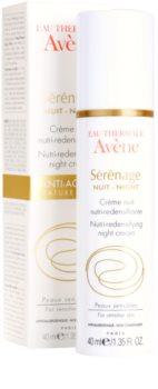 Avène Sérénage crema de noche antiarrugas  para pieles maduras