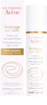 Avène Sérénage нічний крем проти зморшок для зрілої шкіри