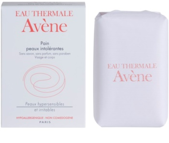 Avène Intolerant Skin sapone solido per viso e corpo