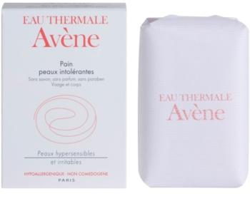 Avène Intolerant Skin твърд сапун за лице и тяло
