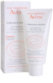 Avène Tolérance Extreme leite de limpeza para pele sensível e alérgica