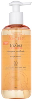 Avène TriXera Nutrition Cleansing Gel For Face And Body