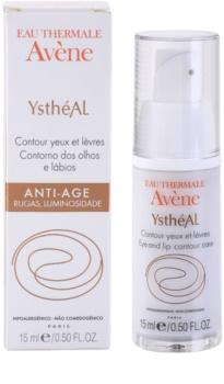 Avène YsthéAL Nachtcreme für Augen - und Lippenkonturen