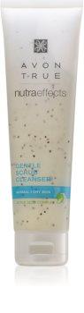 Avon True NutraEffects jemný pleťový peeling pre normálnu až suchú pleť