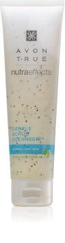 Avon True NutraEffects jemný pleťový peeling pro normální až suchou pleť