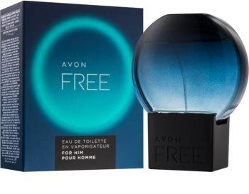 Avon Free For Him toaletní voda pro muže 75 ml