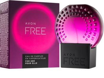 Avon Free For Her Eau de Parfum voor Vrouwen  50 ml