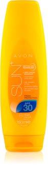Avon Sun leite after sun hidratante  SPF 30