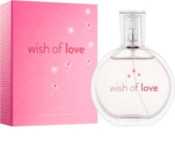 Avon Wish of Love toaletná voda pre ženy 50 ml