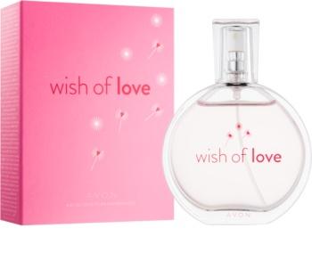 Avon Wish of Love toaletní voda pro ženy 50 ml