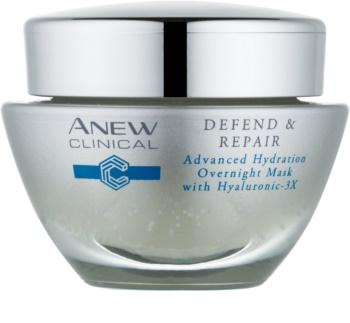 Avon Anew Clinical masque de nuit hydratant effet régénérant