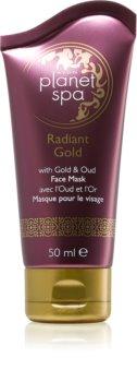 Avon Planet Spa Radiant Gold mască exfoliantă pentru definirea pielii