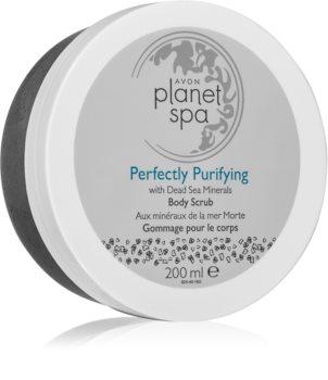 Avon Planet Spa Perfectly Purifying καθαριστική απολέπιση σώματος με μεταλλικά στοιχεία