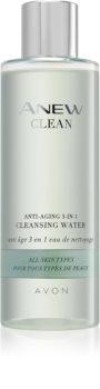 Avon Anew Clean čistilna voda za obraz proti gubam 3v1