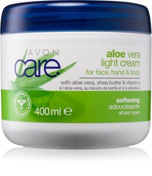 Avon Care crema hidratante y calmante para rostro y cuerpo