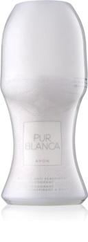 Avon Pur Blanca Αποσμητικό roll-on για γυναίκες 50 μλ
