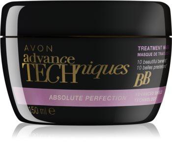 Avon Advance Techniques Absolute Perfection regenerierende Maske für die Haare