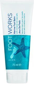 Avon Foot Works Healthy feuchtigkeitsspendender Balsam für Füssen