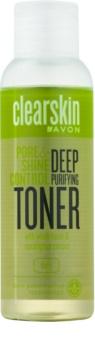 Avon Clearskin  Pore & Shine Control mélyen tisztító arcápoló víz hűsítő hatással