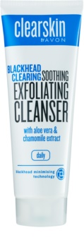 Avon Clearskin  Blackhead Clearing gel exfoliant de curatare impotriva punctelor negre