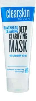 Avon Clearskin  Blackhead Clearing hĺbkovo čistiaca maska proti čiernym bodkám