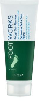 Avon Foot Works Classic crema pentru exfoliere pentru picioare