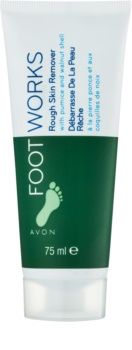 Avon Foot Works Classic peelinges krém lábakra