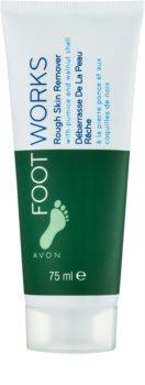 Avon Foot Works Classic пилинг крем за крака