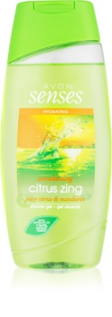 Avon Senses Awakening Citrus Zing feuchtigkeitsspendendes Duschgel