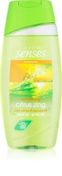 Avon Senses Awakening Citrus Zing gel de dus hidratant