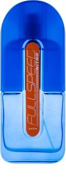 Avon Full Speed Nitro Eau de Toilette voor Mannen 75 ml
