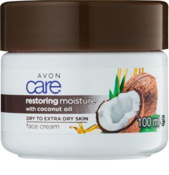 Avon Care crème hydratante visage à l'huile de coco
