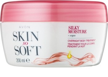 Avon Skin So Soft Silky Moisture krem do ciała na noc