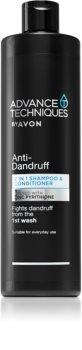 Avon Advance Techniques Anti-Dandruff Shampoo und Conditioner 2 in 1 gegen Schuppen
