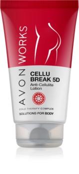 Avon Works mleczko do ciała przeciw cellulitowi